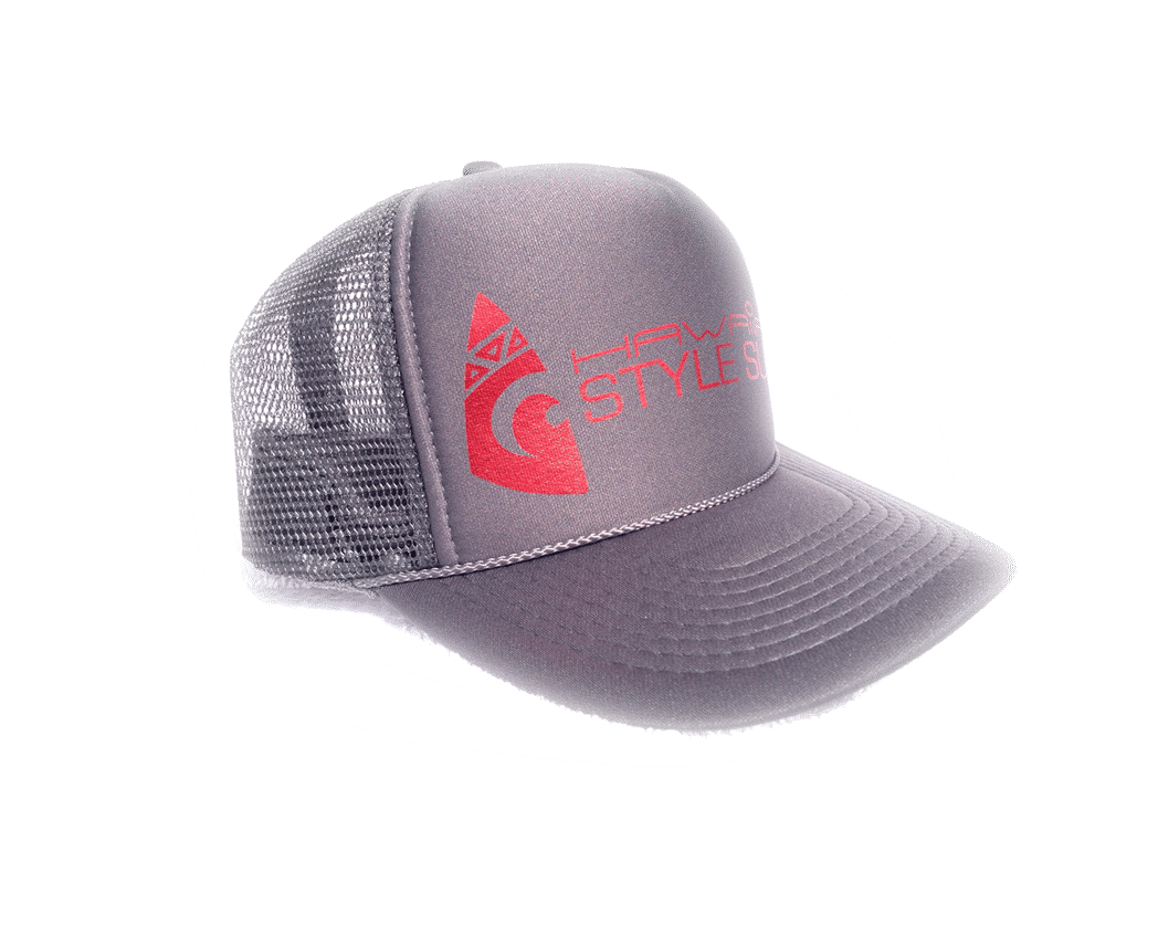 Surf Hawaiian Trucker Hat Hawaiian Surf