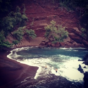 Red Sand Beaches Maui