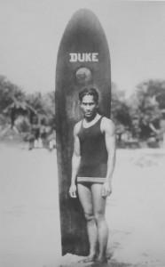 Duke surfing hawaii