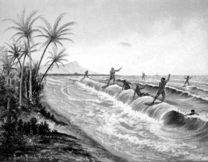 early surfers